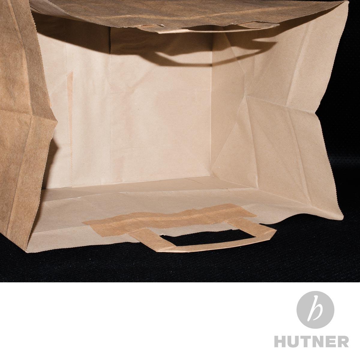 hutner b ckert ten braun weiss flachhenkel kuchentragetaschen papiertaschen. Black Bedroom Furniture Sets. Home Design Ideas