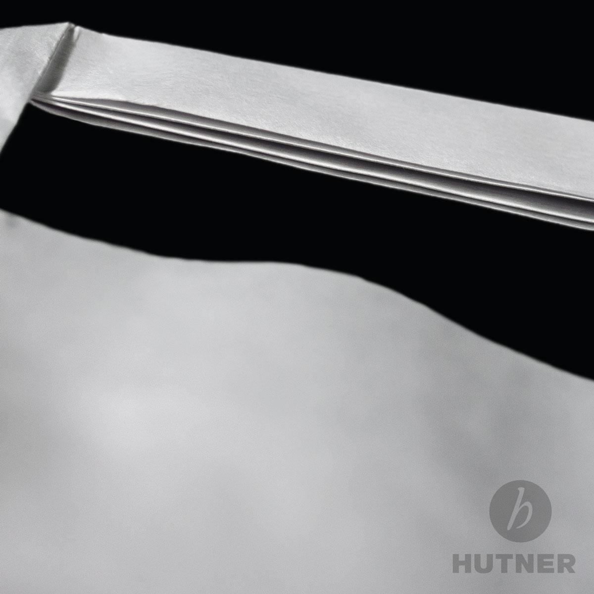 HUTNER   Papiertüten 22x10x36 weiss Papiertragetaschen Flachhenkel ...